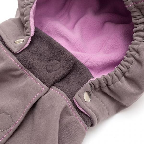 Glugă și fular de încălzire a gâtului pentru bebeluși Liliputi® - Peony