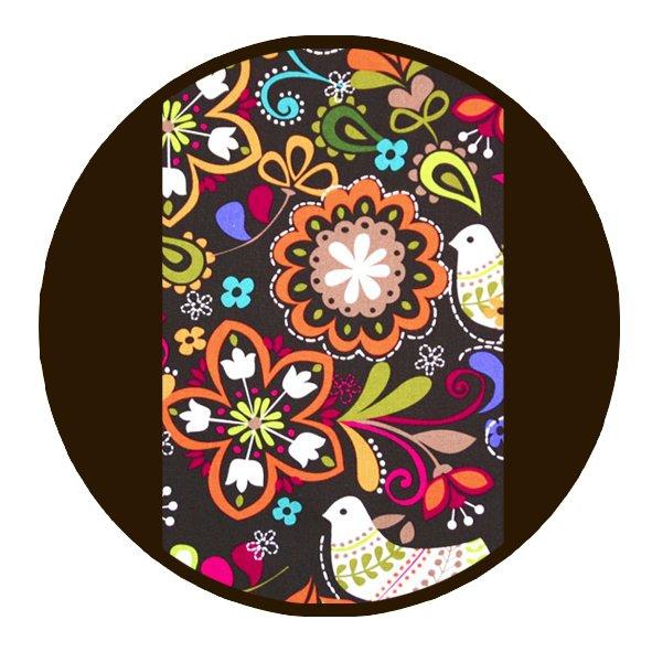 Marsupiu ergonomic SSC Liliputi® Rainbow line - Folk-tale