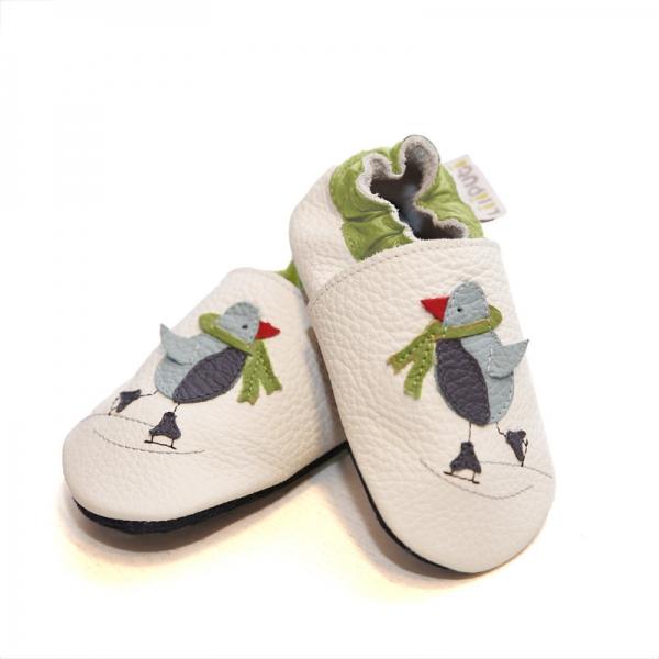 Pantofi cu talpă moale Liliputi® - Cool Penguin