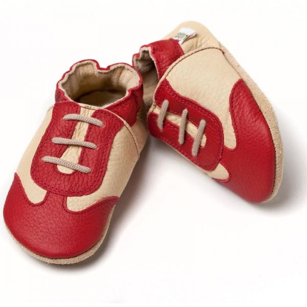 Pantofi cu talpă moale Liliputi® - Red Sport