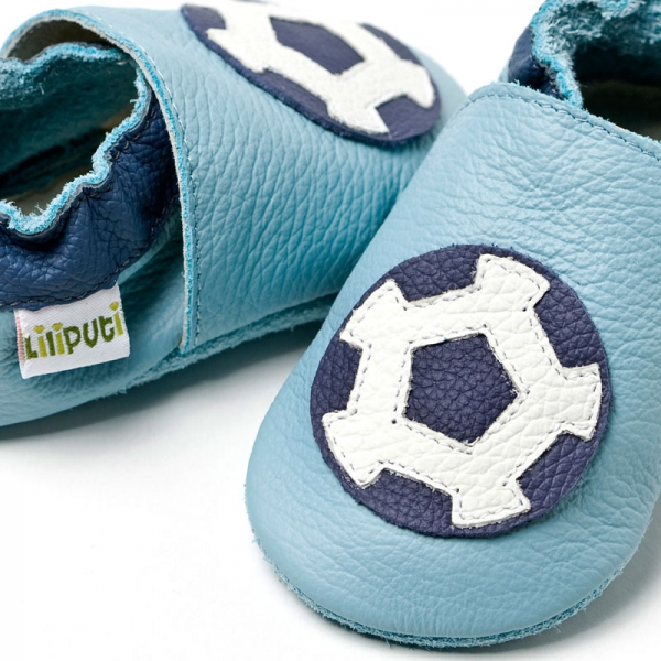 Pantofi cu talpă moale Liliputi® - Soccer shoes