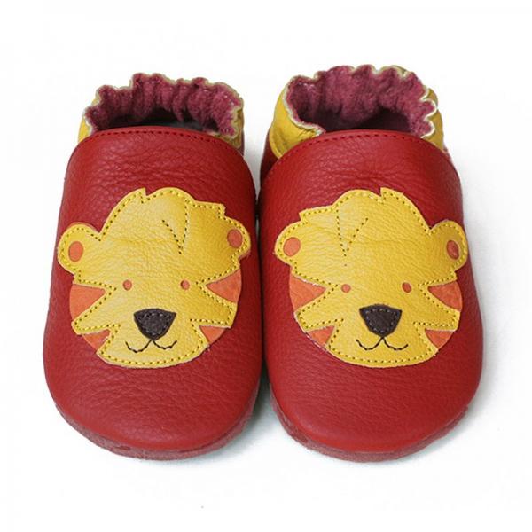 Pantofi cu talpă moale Liliputi® - Tigers
