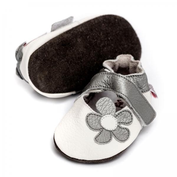 Sandale cu talpă moale Liliputi® - Ice Flower