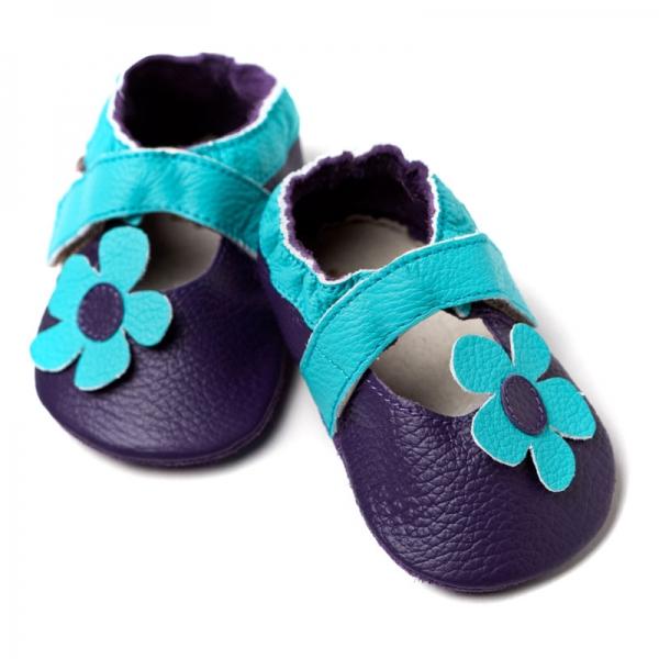Sandale cu talpă moale Liliputi® - Kalahari Purple