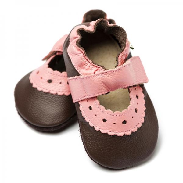 Sandale cu talpă moale Liliputi® - Sahara Brown