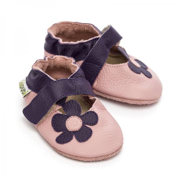 Sandale cu talpă moale Liliputi® - Lilac