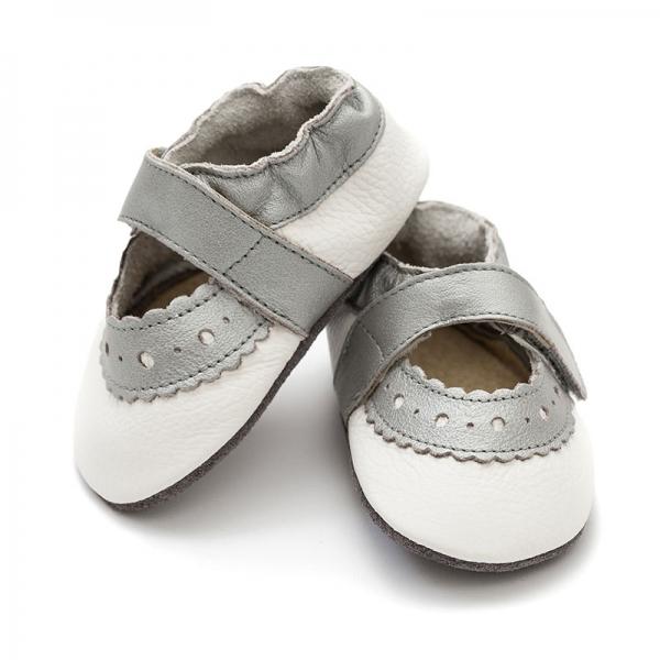 Sandale cu talpă moale Liliputi® - Sahara White