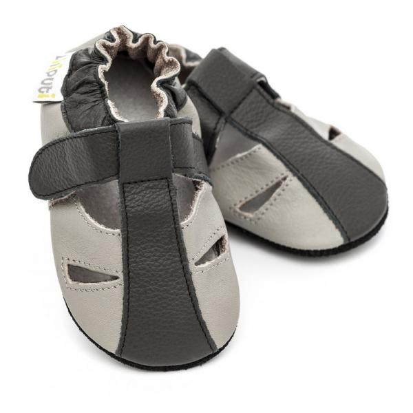 Sandale cu talpă moale Liliputi® - Stone
