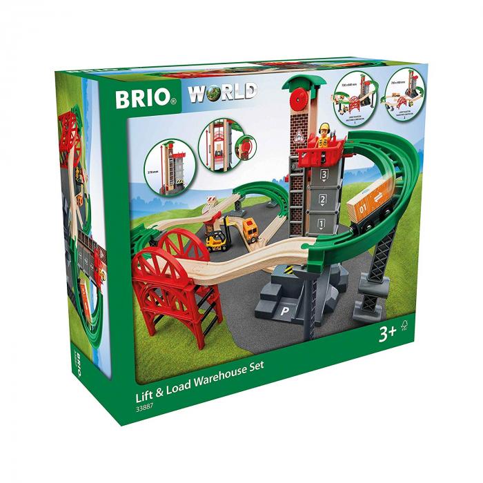 Set de șantier pentru încărcări și descărcări, Brio 33887