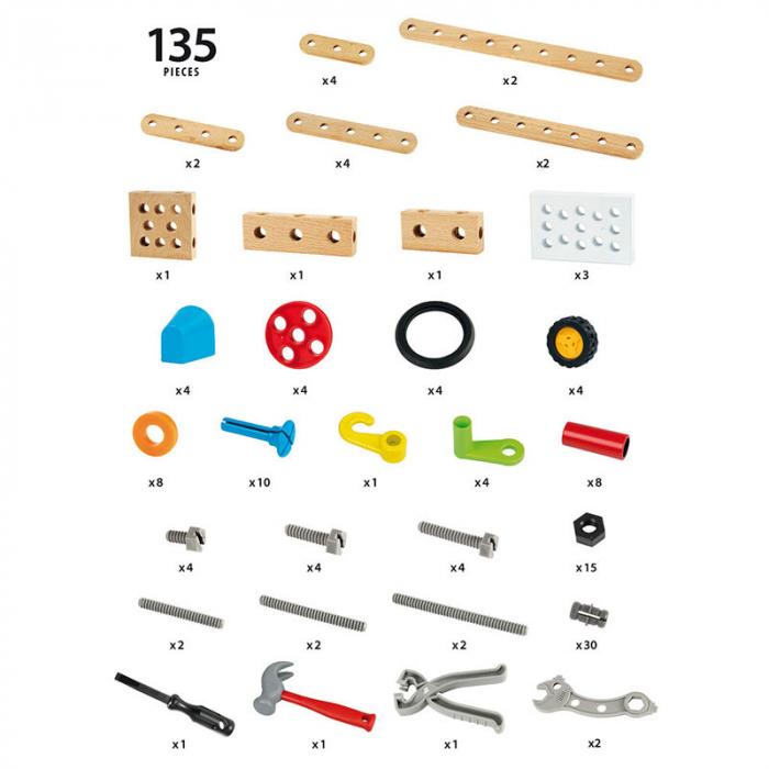 Set de construcții din 135 bucăți, Brio 34587
