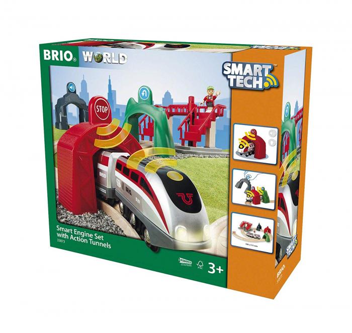 Smart Tech – set inteligent de tunel, Brio 33873