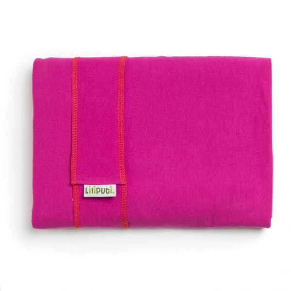 Wrap elastic Liliputi® Classic line - Fuchsia Blooming