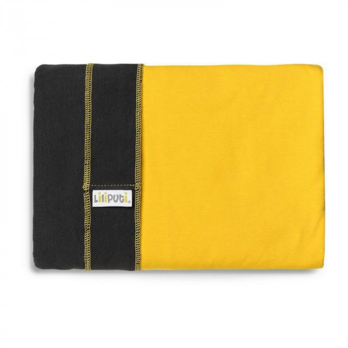 Wrap elastic Liliputi® Duo line - Graphit-Sunshine