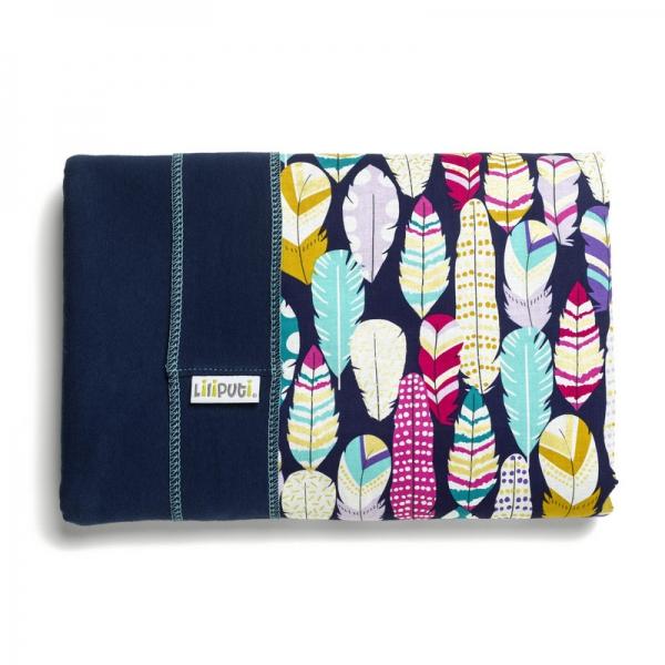 Wrap elastic Liliputi® Rainbow line - Feather