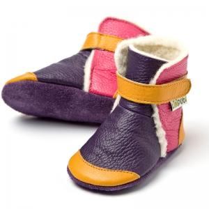 Cizme cu talpă moale Liliputi® - Yukon Yellow