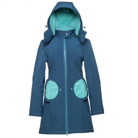 Geacă pentru mămici 4in1 Liliputi® - Azur Turquoise