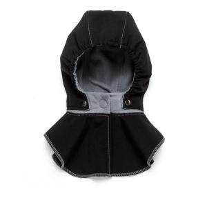 Glugă și fular de încălzire a gâtului pentru bebeluși Liliputi® - Black-grey