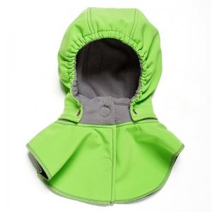Glugă și fular de încălzire a gâtului pentru bebeluși Liliputi® - Green-grey