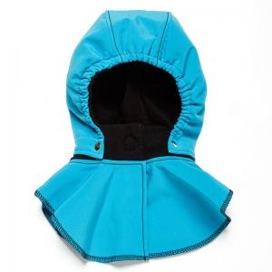 Glugă și fular de încălzire a gâtului pentru bebeluși Liliputi® - Turquoise-black