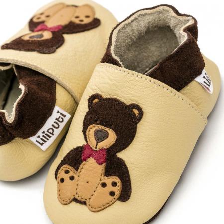 Pantofi cu talpă moale Liliputi® - Teddyboy