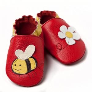 Pantofi cu talpă moale Liliputi® - Little bee