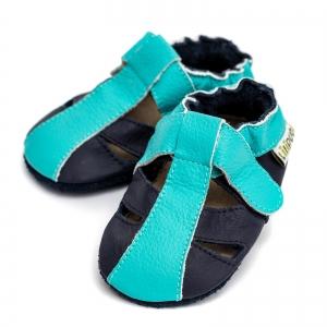 Sandale cu talpă moale Liliputi® - Ocean Breeze