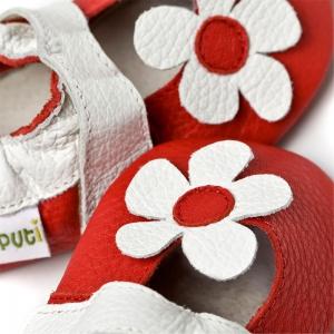 Sandale cu talpă moale Liliputi® - Hawaii Red