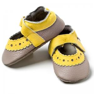 Sandale cu talpă moale Liliputi® - Sahara Grey