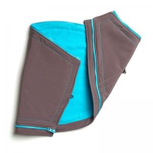 Suport pentru gravide Liliputi® - Grey-turquoise