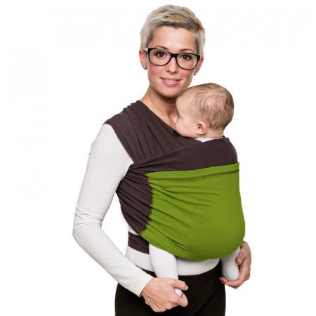 Wrap elastic Liliputi® Duo line - Hazel-Green