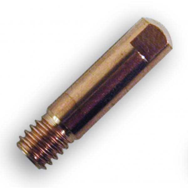 Duza de contact sarma de otel 0.8 mm , M6 x 25 mm