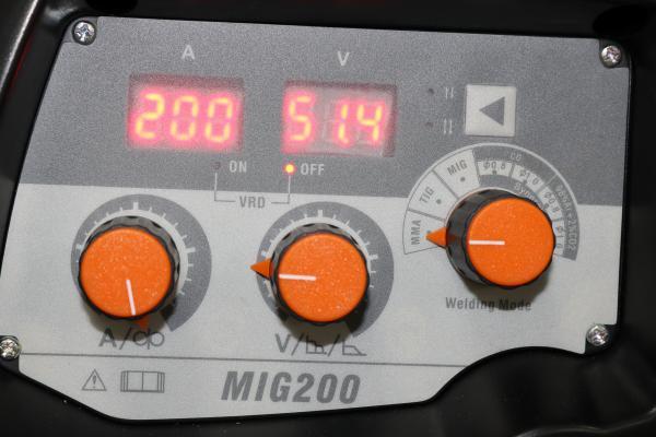Jasic MIG 200 Synergic (N229) - Aparat de sudura MIG-MAG tip invertor