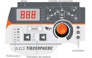 JASIC TIG 200P AC/DC (E201) - Aparate de sudura TIG AC/DC