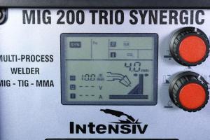 MIG 200 TRIO SYNERGIC - Aparat de sudura INTENSIV tip MIG/TIG/MMA