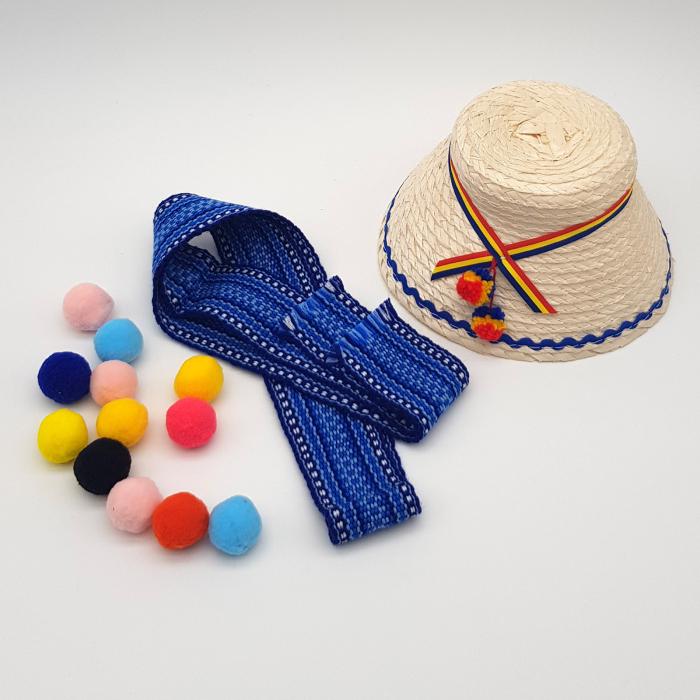 Brau Traditional Copii Albastru