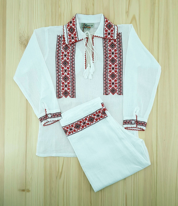 Costum traditional baieti- Alexandru