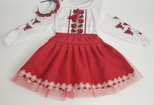 Compleu traditional fetita Alexia