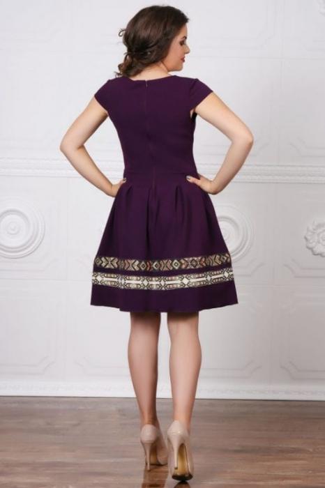 Rochie Stilizata cu Motive Traditionale Adelina 7