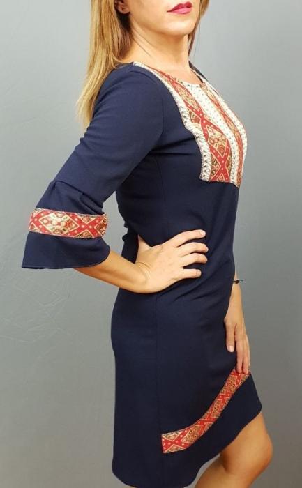 Rochie Stilizata cu Motive Traditionale Izabela 7