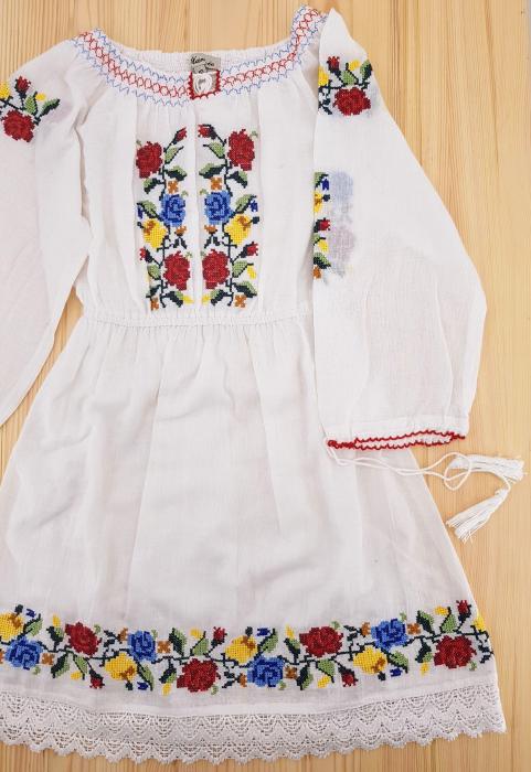 Rochie traditionala Fetita Ana