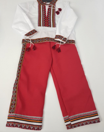 Costum traditional baieti- Costin