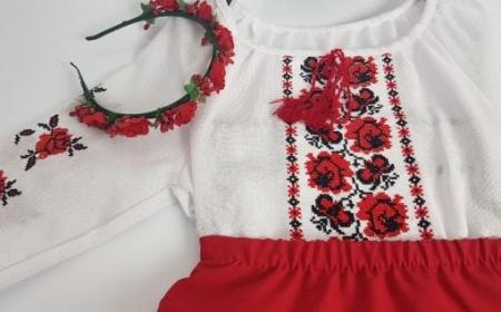 Compleu traditional fetite Alexia