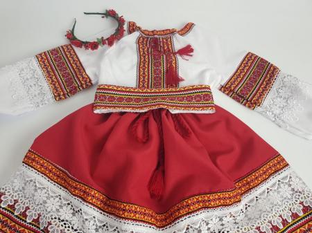 Compleu traditional fetita Adela