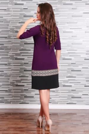 Rochie Stilizata cu Motive Traditionale Camila 3