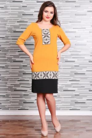 Rochie Stilizata cu Motive Traditionale Camila 2