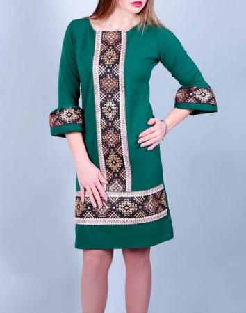 Rochie Stilizata cu Motive Traditionale Andreea