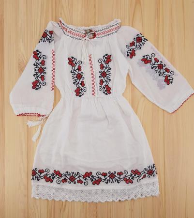 Rochie traditionala Fetita Anca