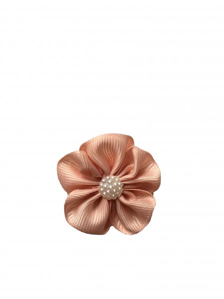 Floare mica saten mat, raiat - 4m cm (roz prafuit)