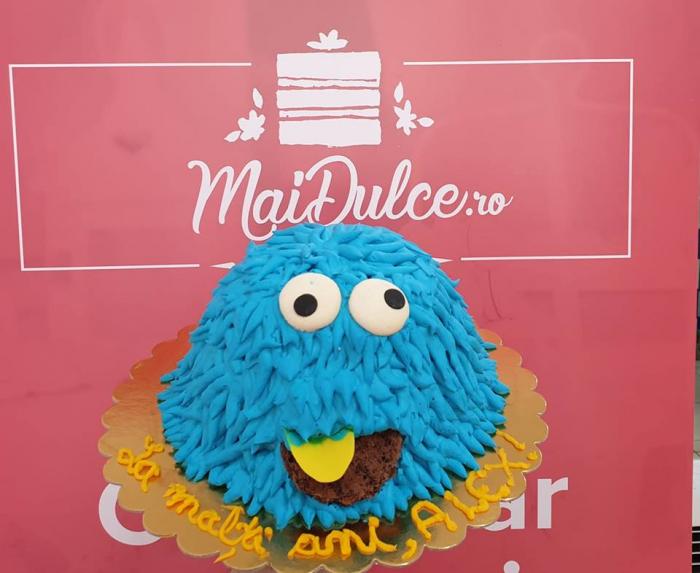 Tort Cookie Monster