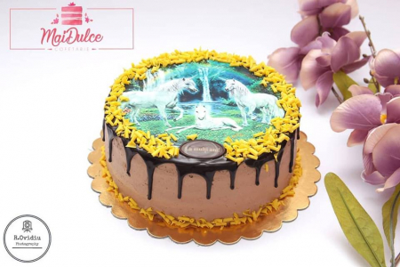 Tort clasic cu imagine